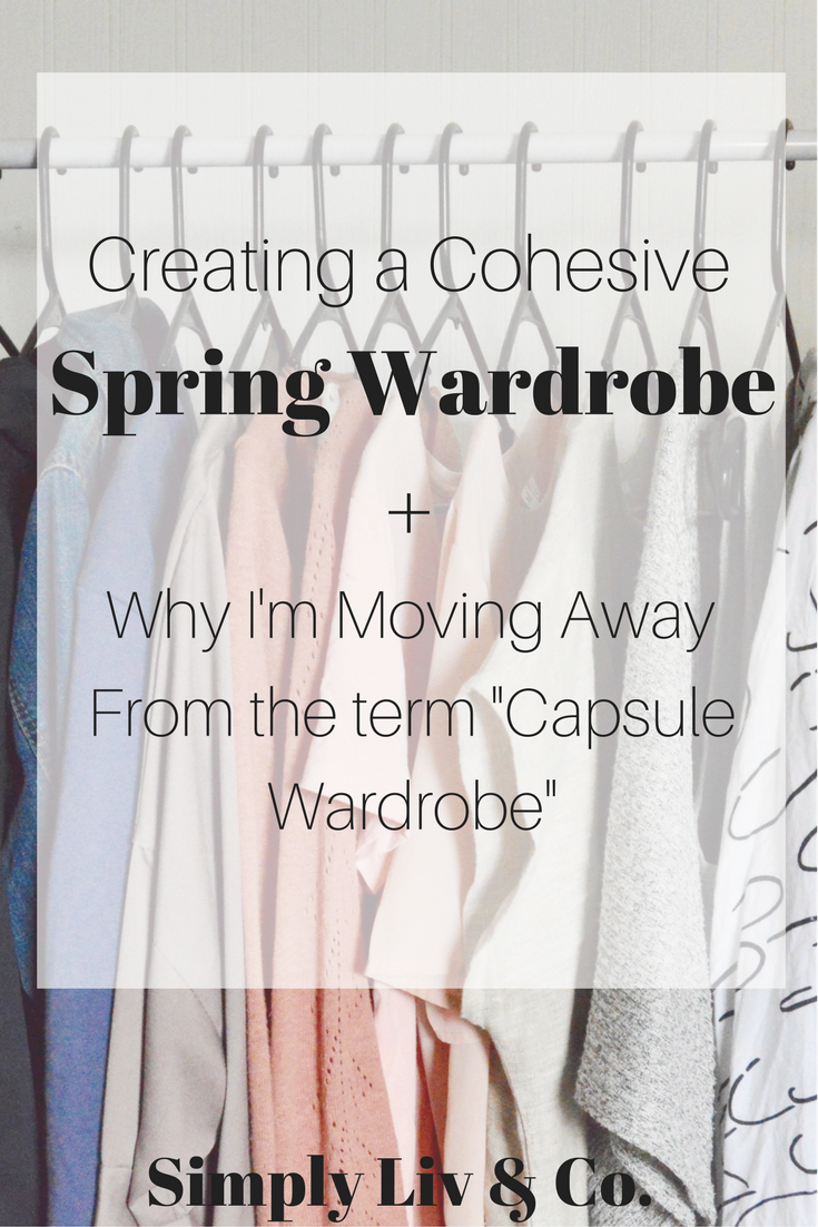 Capsule wardrobes can be AMAZING for learning your personal style, curbing shopping habits, and learning to create a cohesive wardrobe, but all good things must come to an end (or at least a break). Here's my last capsule and how you can create an equally cohesive capsule.