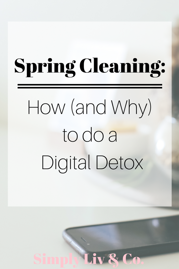 Typically, spring cleaning means dusting off dirt and de-cluttering the unused, but what about our online lives? When arguably vast amounts of time is spent online, it makes sense that this area of our lives would need a little TLC every once in a while too.
