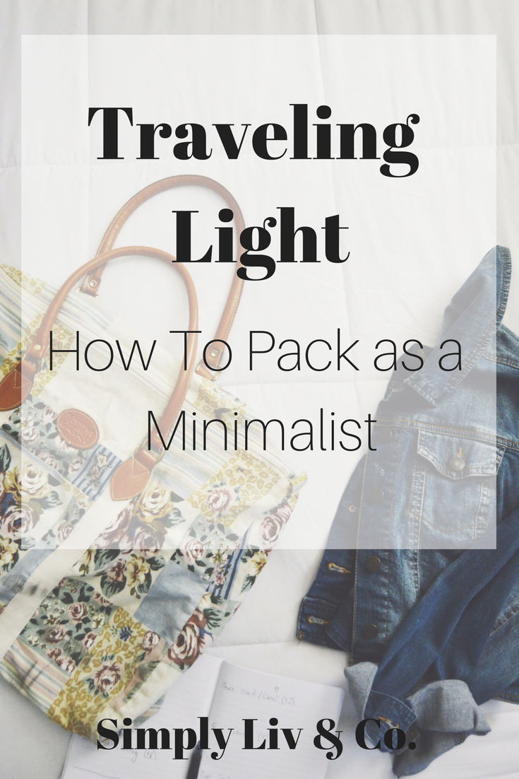 If you're an over-packer, you NEED to read this post about how to outfit plan for your travels and pack LESS.