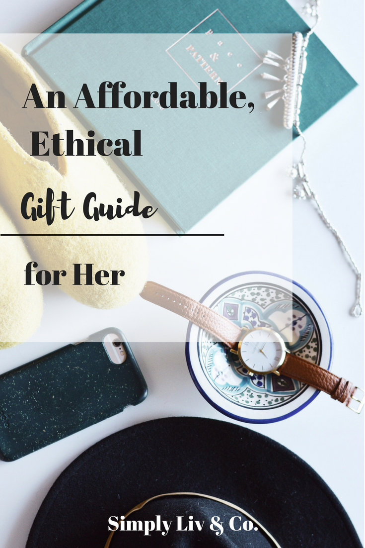 Christmas shopping for the women in your life doesn't have to come at the expense of ethics or budget. This guide is full of gorgeous pieces for any age, lifestyle, or personality, all consciously crafted and affordable.