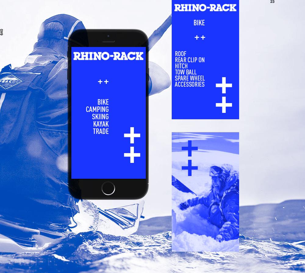 RHINO-RACK: Design (company rebrand)