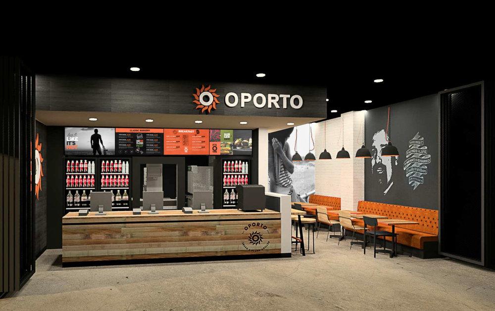 Oporto: Design (store rebranding)