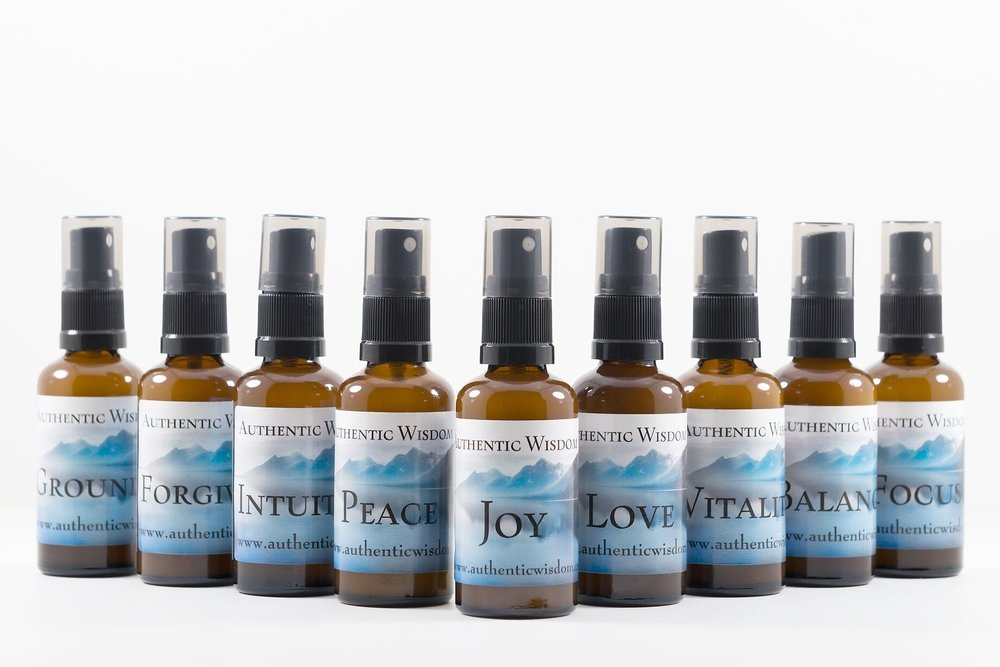 Vibrational Mists Authentic Wisdom vibrational mists combine genuine essential oils with energy-healing flower essences, which can be used at work or in the home to create the experience and atmosphere you choose. Learn More →