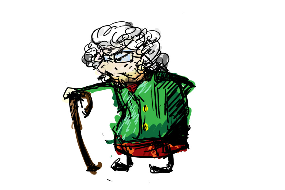 Copy of Old Lady