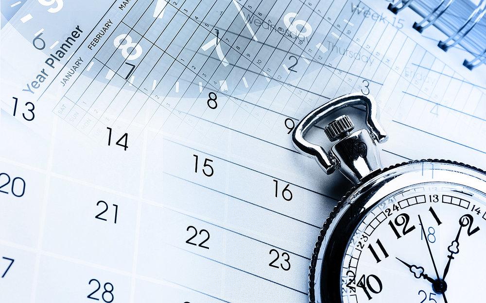 Calendar predictions