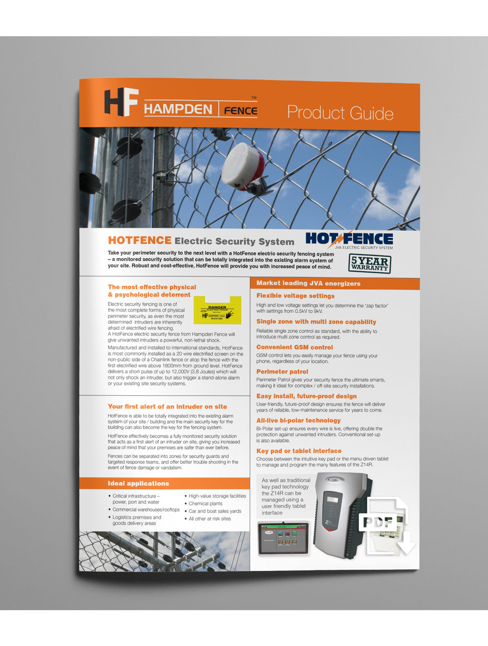 HOTFENCE ELECTRIC SECURITY