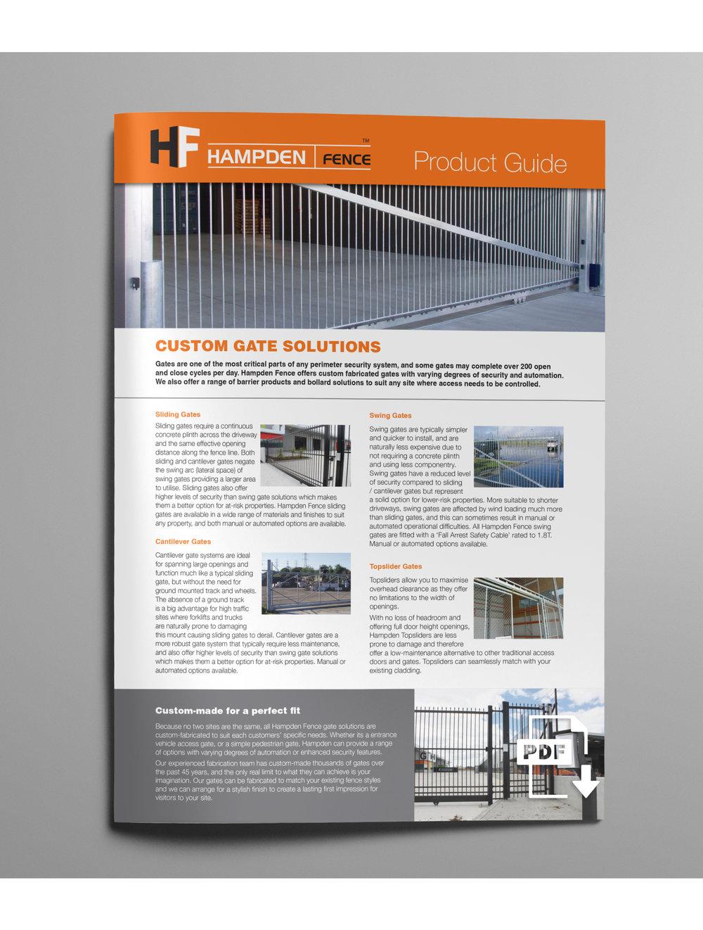 CUSTOM GATE SOLUTIONS