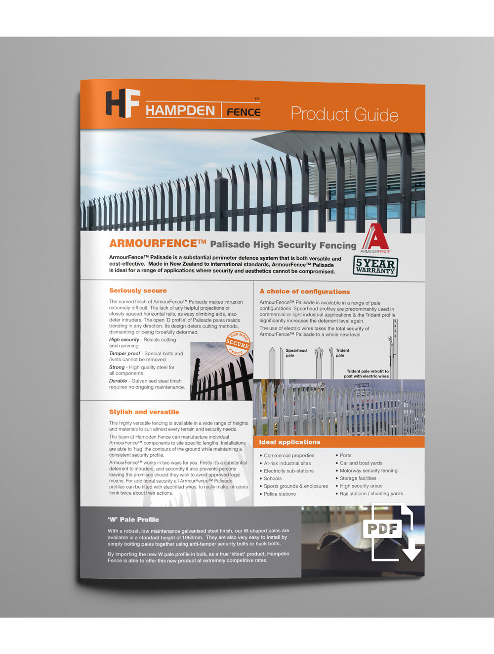 ARMOURFENCE PALISADE FENCING