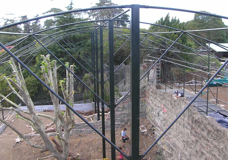 AUCKLAND ZOO SPECIALIST ANIMAL ENCLOSURES
