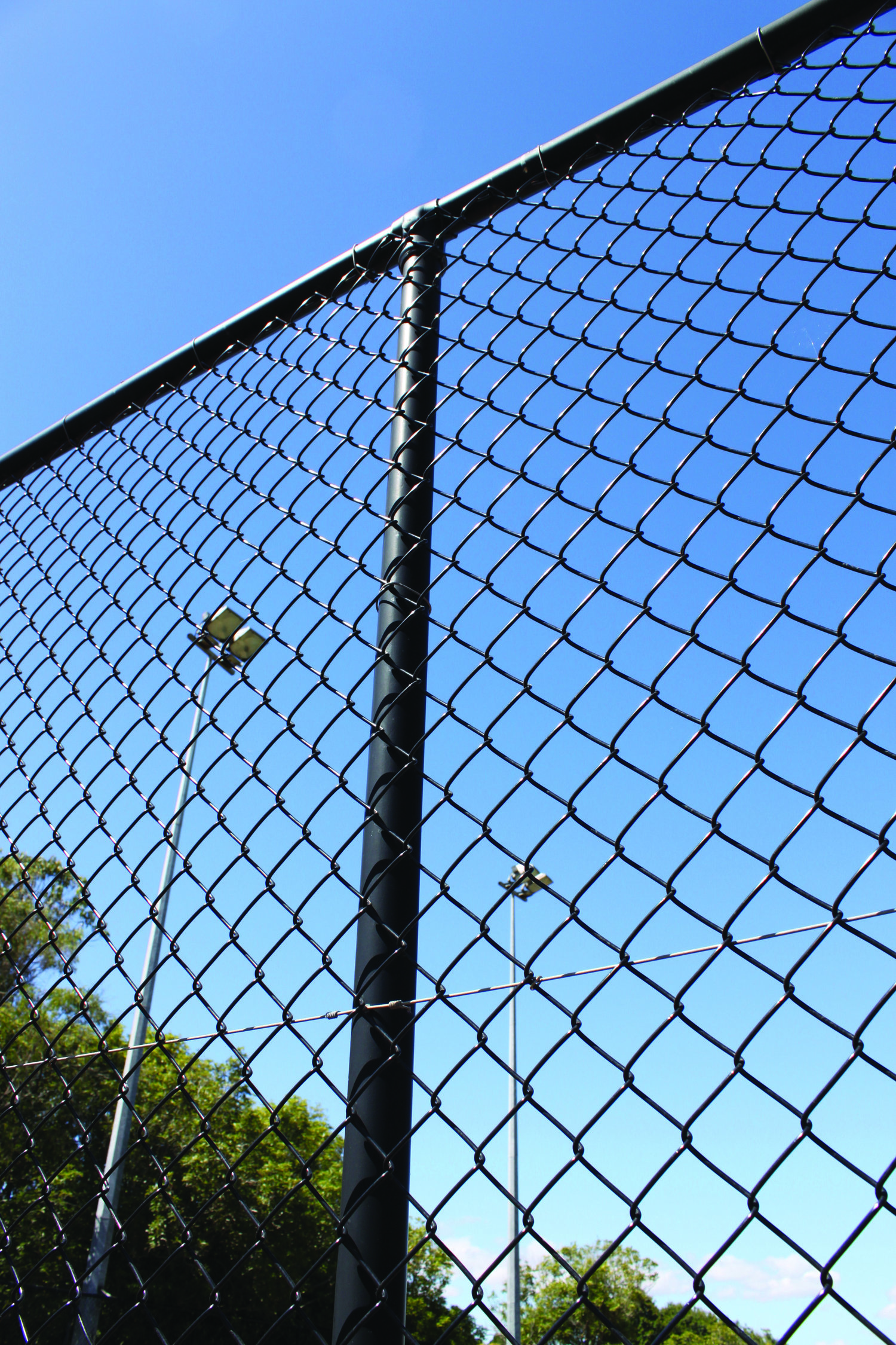 Pipe & Mesh Chainlink Fencing — Hampden Fence