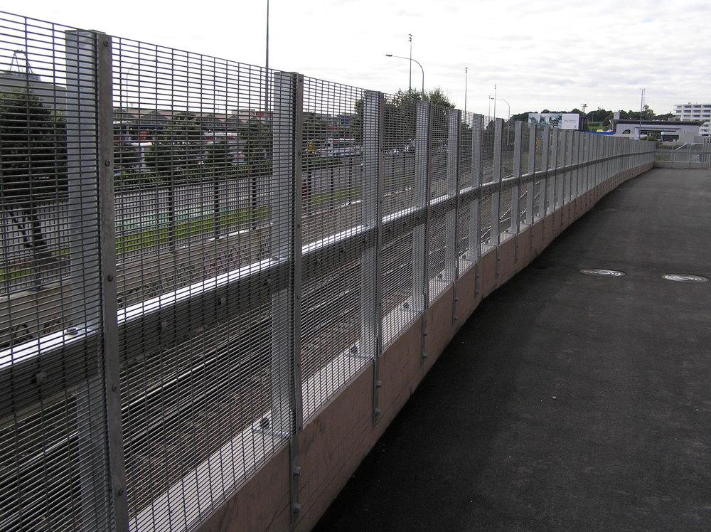 358 Anti-climb Perimeter Fencing, Vector Arena, Auckland