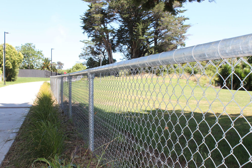Waterview Connection Pipe & Mesh Chainlink Fencing .jpg