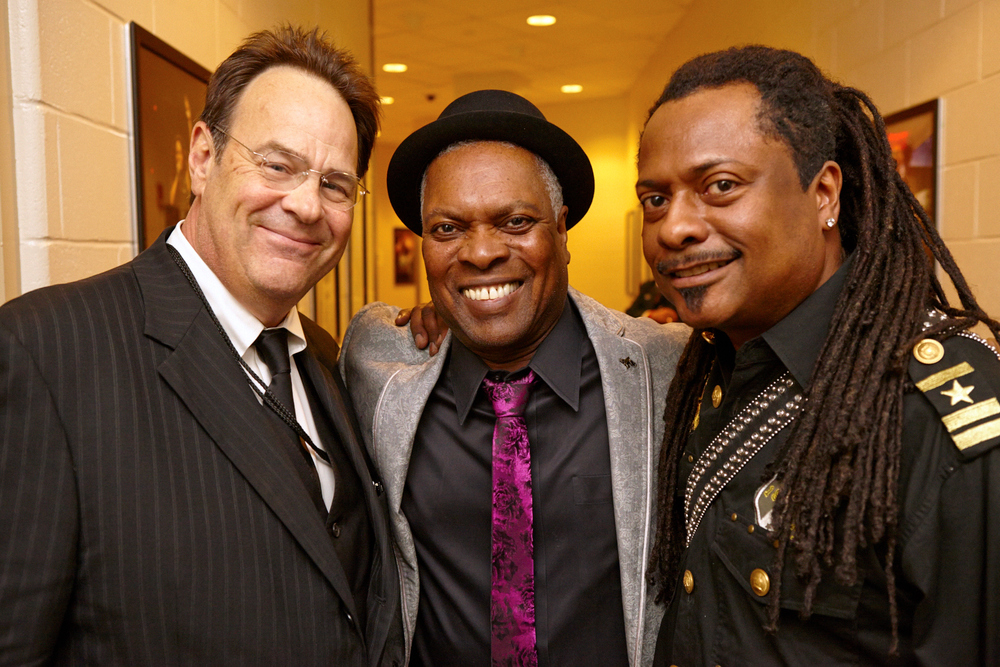 "Dan Aykroyd, Booker T, and Vernon ""Ice"" Black at Crossroads at Madison Square Garden"