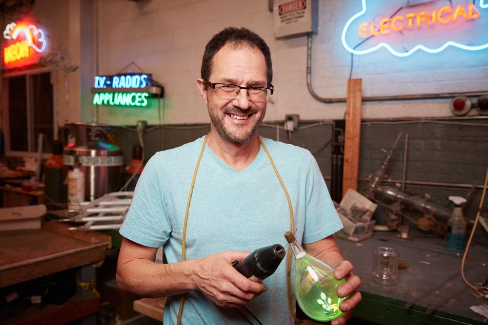 David Ablon,   Neon Artist