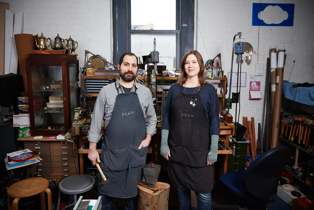 Brian Weissman and Erin Daily, Metal Artists
