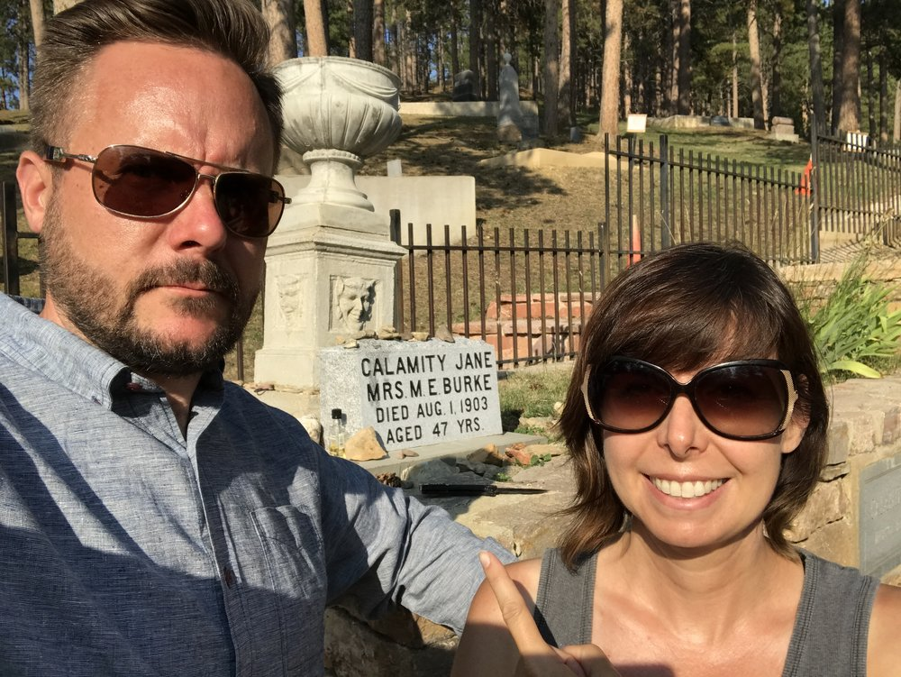 Whatever about Buffalo Bill...we came to pay our respects to Calamity Jane.