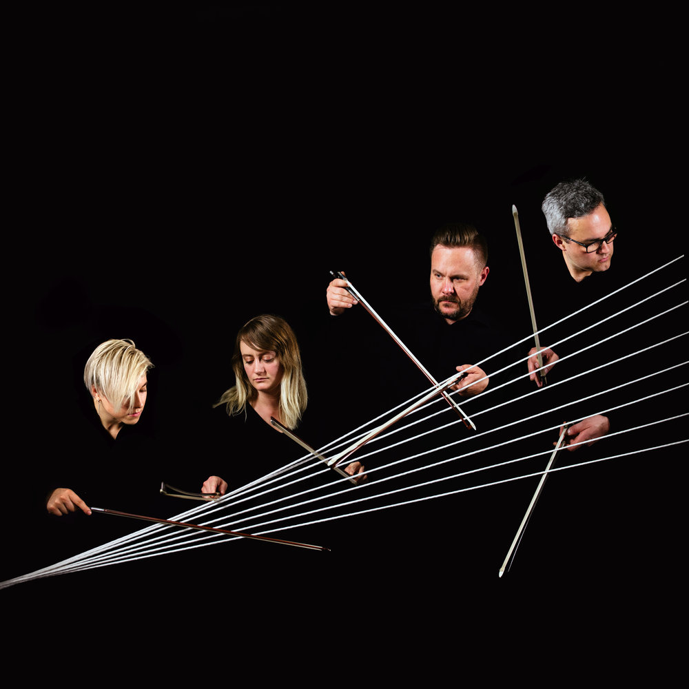 "Spektral Quartet - ""…they have everything: a supreme technical command that seems to come easily, a capacity to make complicated music clear, and, most notably...an ability to cast a magic spell."" - The New York TimesNamed 2018 Chicagoans of the Year by The Chicago TribuneWidely regarded as one of the most innovative classical music ensembles on the scene today, Grammy-nominated Spektral Quartet creates seamless connections across centuries, drawing in the listener with charismatic deliveries, interactive concert formats, an up-close atmosphere, and bold, inquisitive programming.The Quartet regularly performs and teaches in premiere venues and institutions around the United States, including recent and future engagements at the Kennedy Center, the Library of Congress, Bargemusic, Carnegie Hall's Neighborhood Series, the Art Institute of Chicago, the Museum of Contemporary Art (Chicago), the University of Chicago, Stanford University, and New World Symphony.In 2016, Spektral's album Serious Business was nominated for a Grammy award. The ensemble's recent album with MacArthur 'genius' Miguel Zenón garnered rave reviews from around the jazz world, and forthcoming records include Fanm d'Ayiti, an album of Haitian music with Grammy-winning artist Nathalie Joachim, and In Search of Futures Past, a double album of classical string quartet music spanning 150 years and many musical traditions."