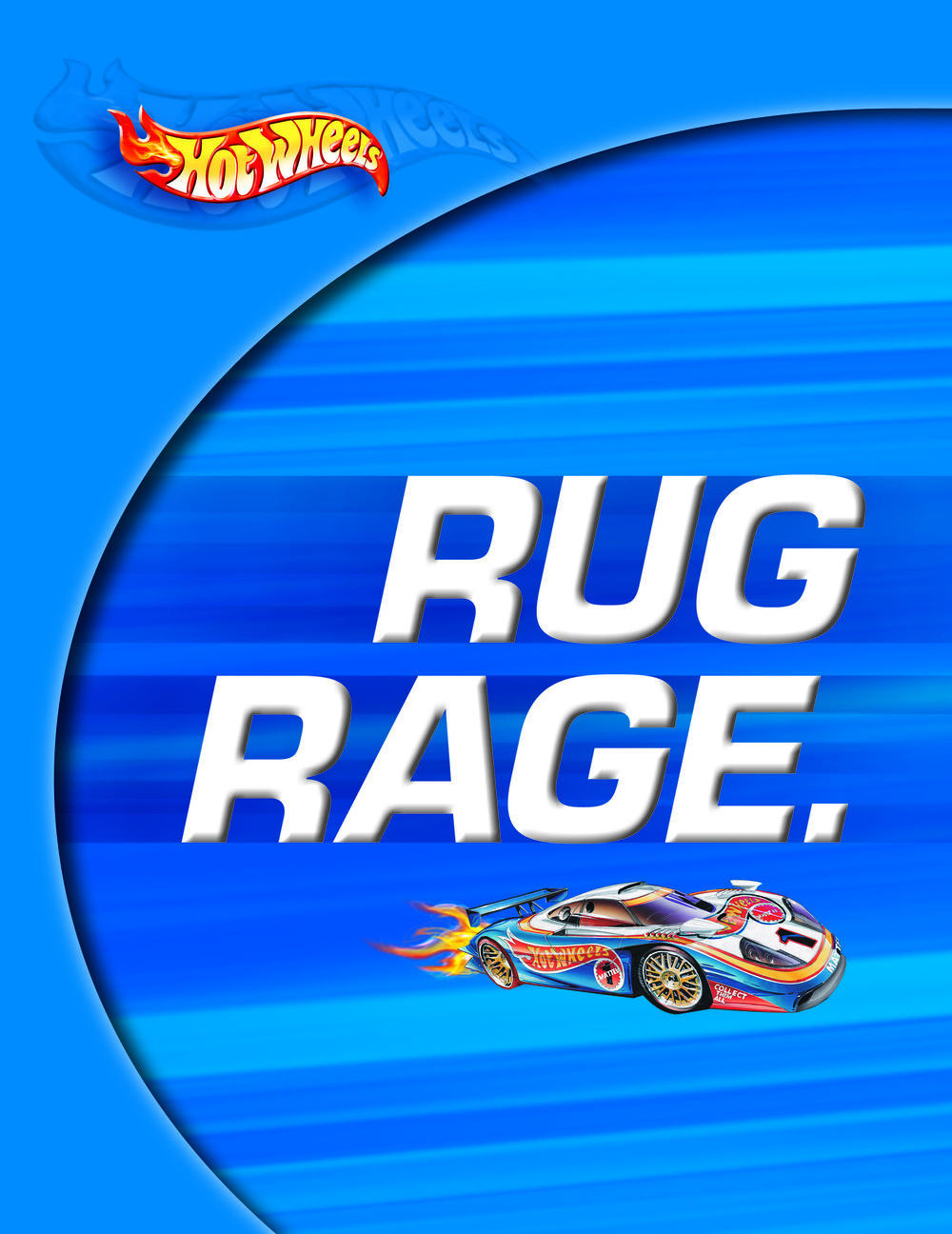 Hot Wheels Rug Rage