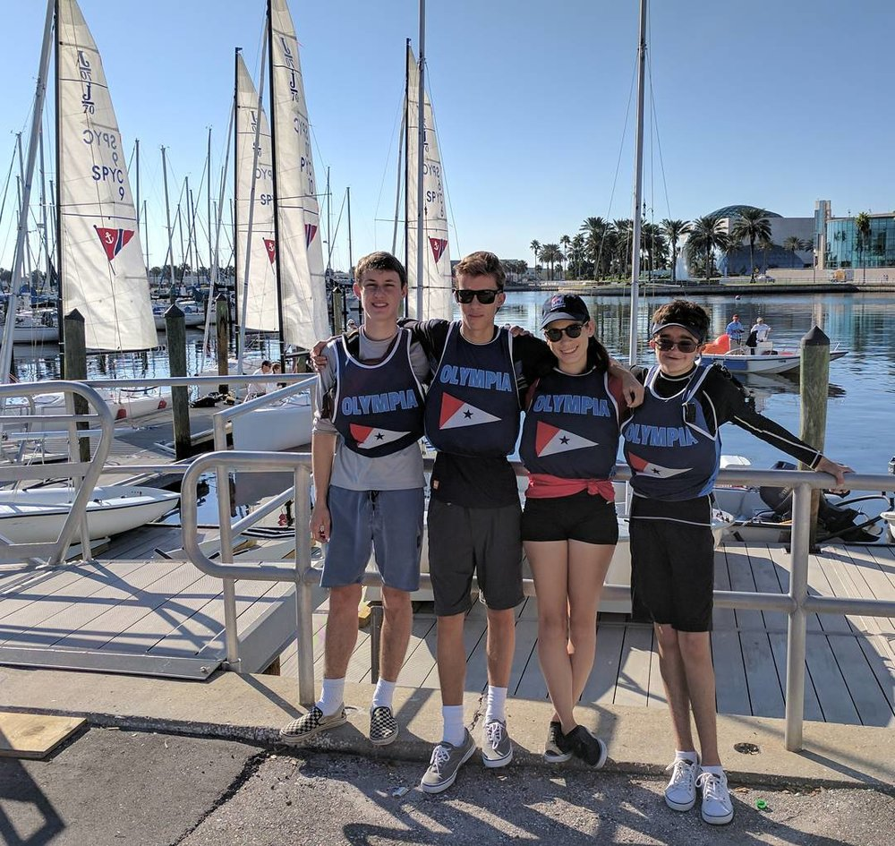 day 1 keel boat nationals! go max, evan, ciara and ian!