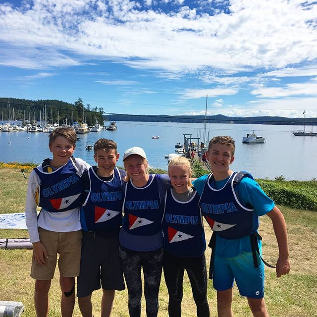 The Olympia Yacht Club Race Team was well represented at the Ray Jarecki Orcas Island Regatta in FJs and Optis! A long trek for us, but very much worth it. Light wind, gorgeous weather, and tons of racing. Congratulations Sophia and Jake for attending your first regatta ever! Thank you Orcas Island Yacht Club for hosting! ...next up in the NW Youth Summer Racing Circuit is the WIND Clinic and Regatta in the Gorge! ⛵ : ...If you're not getting in a boat this summer - is it really summer?!! : @ohssailingteam #funinthesun #thefutureislookinggood #oycraceteam #orcasisland #sailhard #workhard #littlesteps #gothedistance