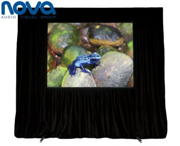 3 Metre Indoor Screen - Model: 3 metre fast fold indoor screen (Diagonal measurement of screen)/ Suitable for audiences up to 200 peopleGeneral: Front and rear projection capable/Fast and simple setup/Easy to transport/16:9 widescreen formatLightweight and compactOther features: Portable being housedin protective road cases for safe and securetransportation and storage
