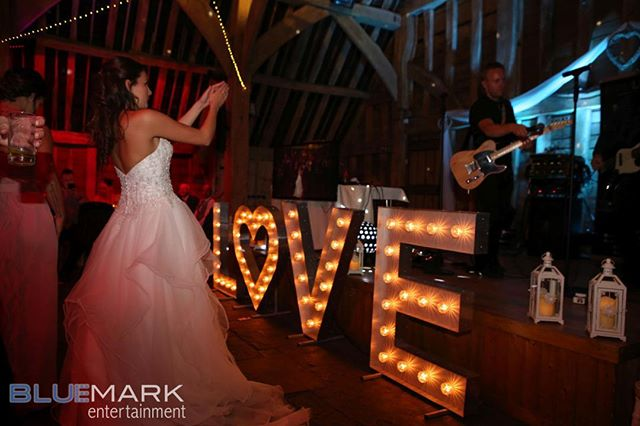Jaz showing her appreciation for the Sam Lewis band - fabulous wedding for a lovely couple with the best Hertfordshire supplier team #barnwedding #rusticwedding #hertforshirewedding #hertfordshiredj #weddingmagic #weddingband #weddingfilm #weddingphotography #hertfordshireweddingvenue