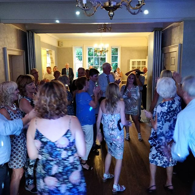 Was a fabulous 50th wedding anniversary with some brilliant requests, we had lots of dancing too.