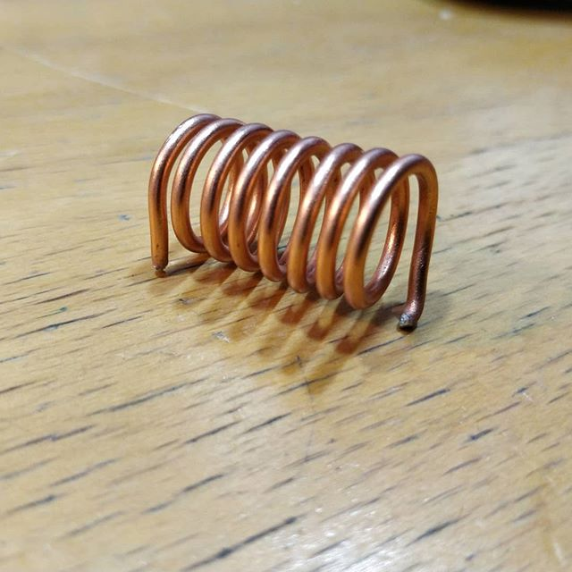 Simple wound piece of copper ! What do you think ?