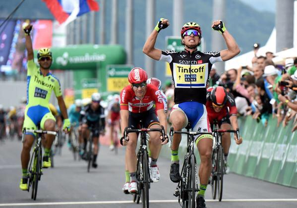 Tour de Suisse Points Jersey win for Sagan