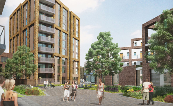 The Junction, a similar development in Brixton by Network Housing who are driving Brixton Cycles from their home.