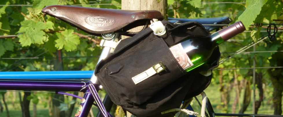A bottle of English wine for every rider