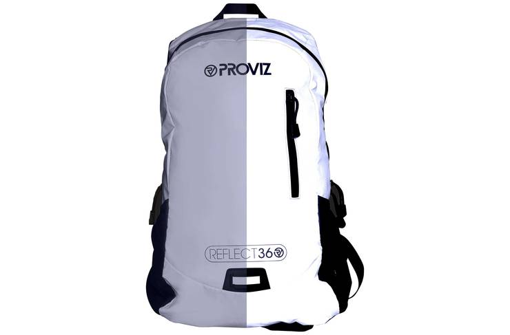 The Proviz Reflect360 rucksack is a good option for extra visibility