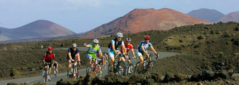 Cycling with the ex-pros in Lanzarote with Club La Santa