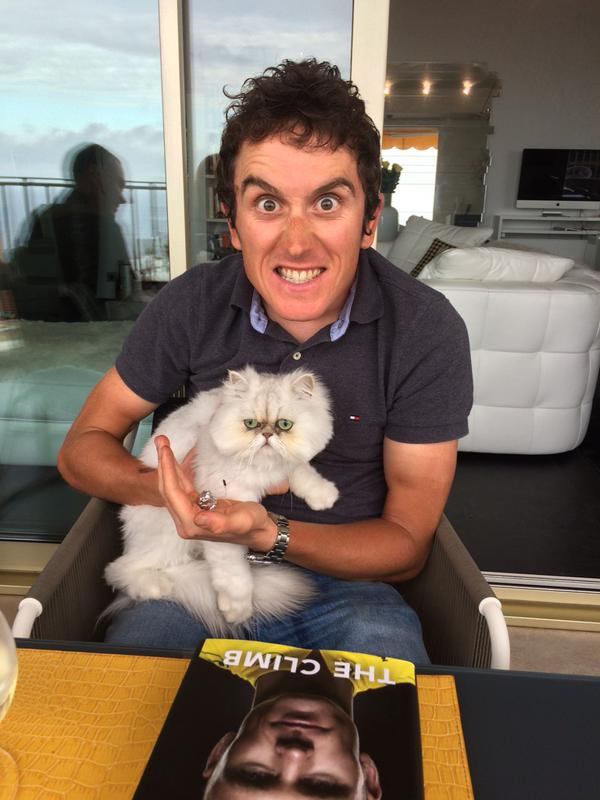 Kidnapping Chris Froome's cat!