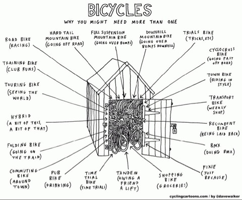Cartoon courtesy of Dave Walker,  www.cyclingcartoons.com