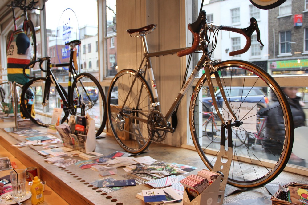 Two lovely new bikes left behind after the Condor Christmas party this month