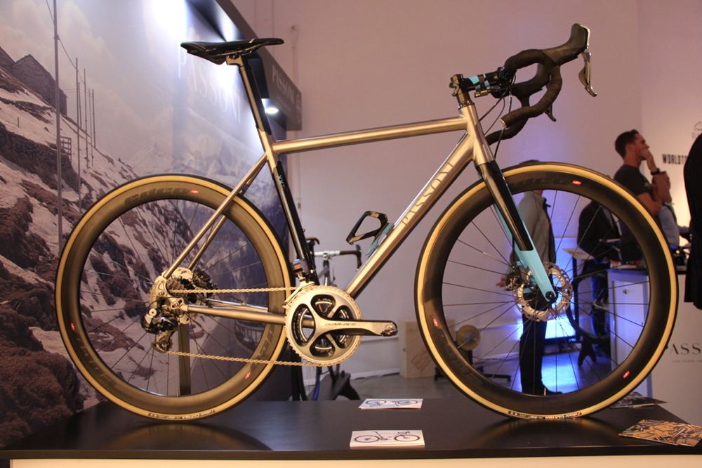 A bespoke Passoni on display at the  Rouleur Classic event  in November