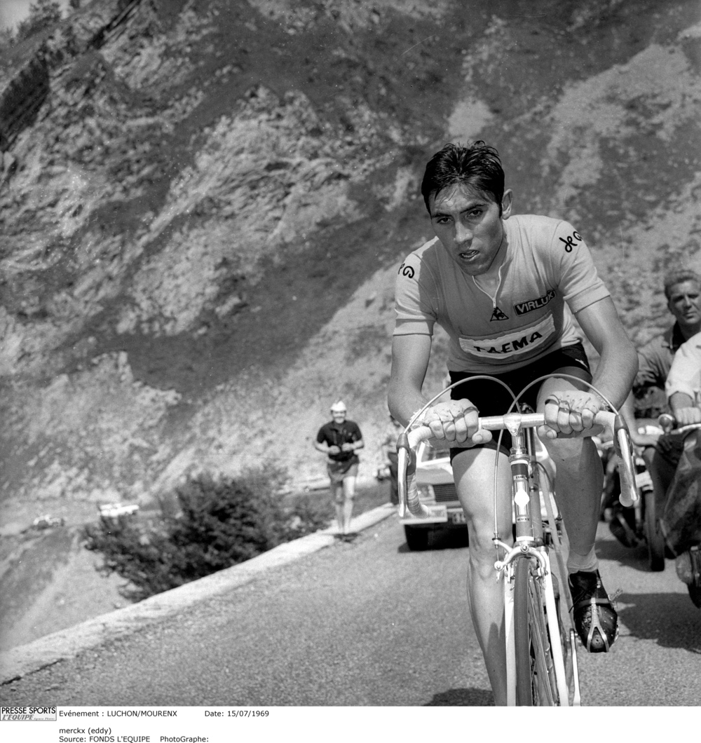Eddy Merckx - winner of both the Tour de France and holder of the Hour record