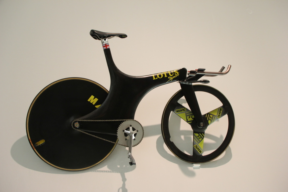 Chris Boardman's Hour attempt 'Superman' bike 1996 by Lotus was groundbreaking in it's time