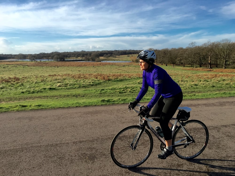 My new saddle is as glorious as a crisp winter's day in Richmond Park