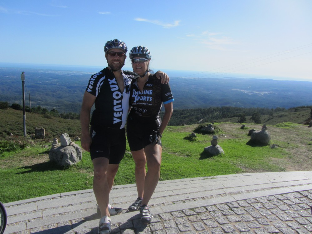No it's not Mont Ventoux, it's actually the Algarve