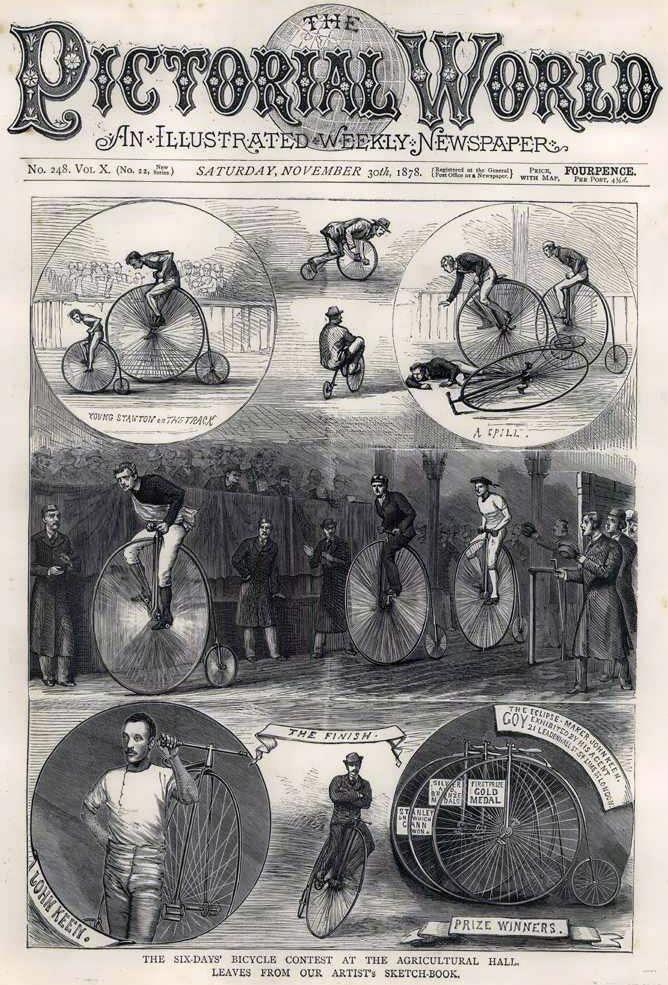 "Even the Victorians called a crash ""a spill"""