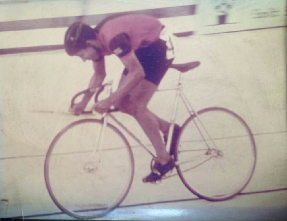 Maurice's first taste of national success in the Junior Sprint Championship at the age of 17