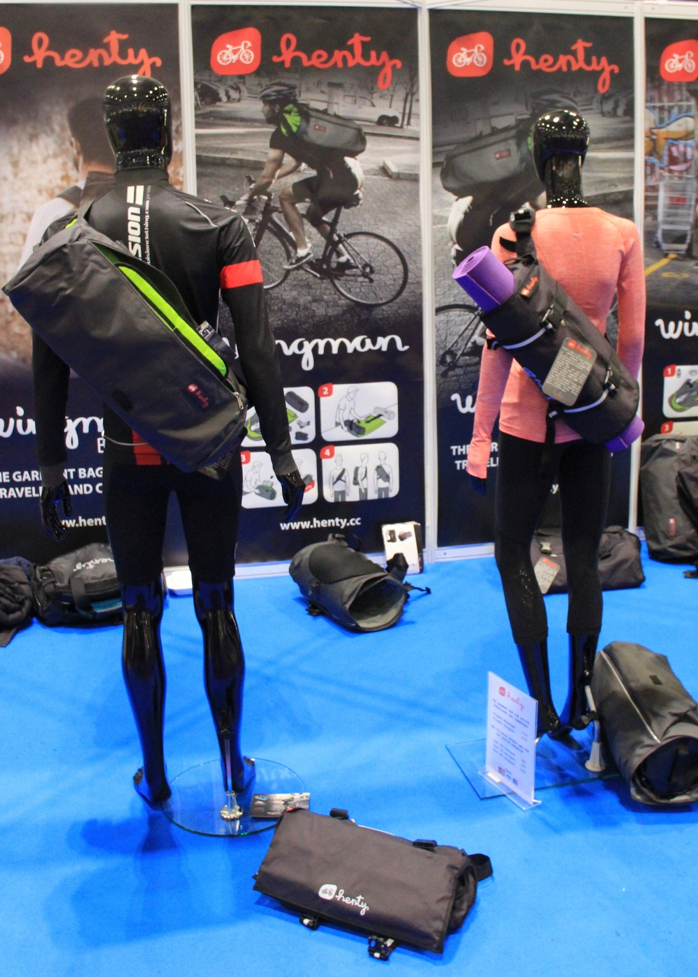 Henty: great solution for the commuter who carries a suit...or yoga mat