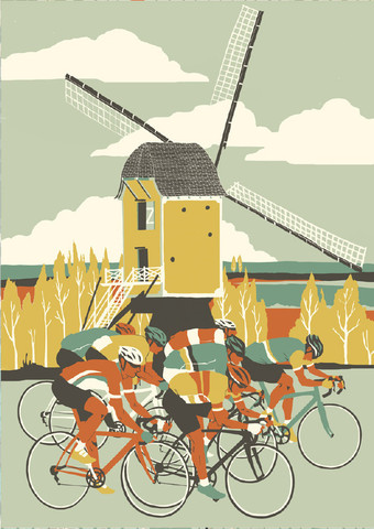 Amstel Gold £400 unframed from  Look Mum No Hands!