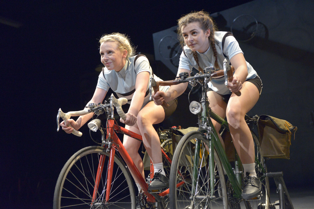 Samantha Power as Beryl Burton and Rebecca Ryan as daughter Denise Cole-Burton