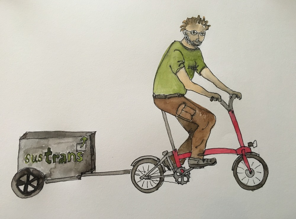 Crispin - the Sustrans Man