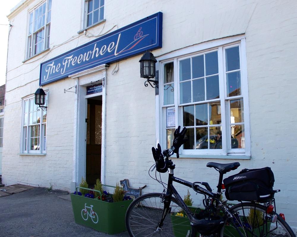 The Freewheel Pub in Graveney, Kent