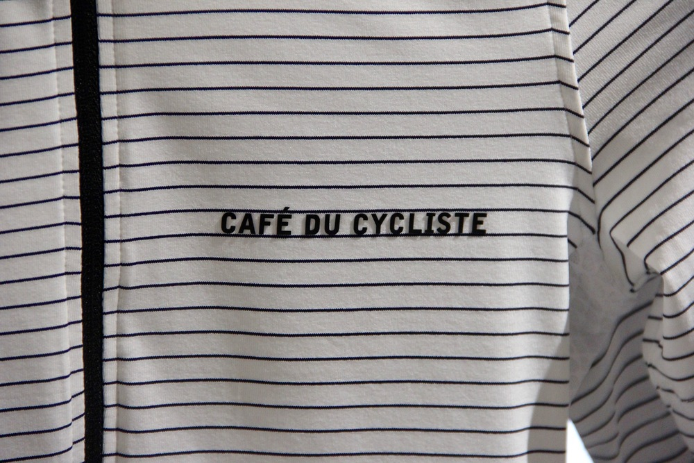 Café du Cycliste apparel for men and women is beautifully made and feels wonderfully luxurious