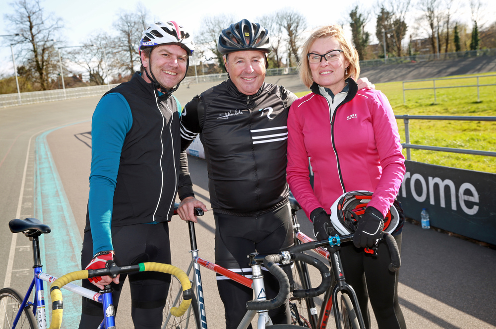 Stephen Roche in a Ride Velo sandwich!